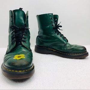 VTG Dr Martens England Made Grunge Distressed Boot